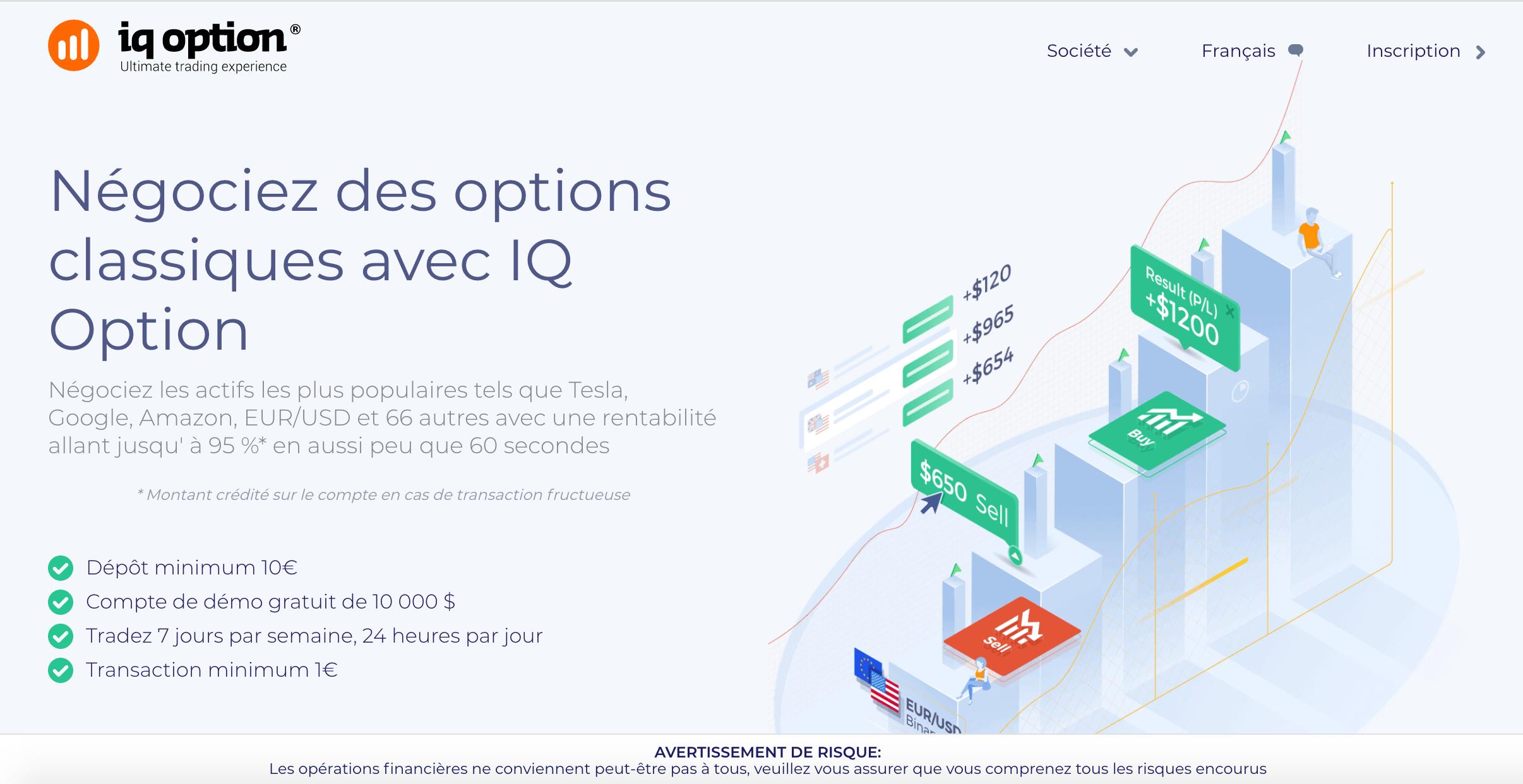 Meilleur trading d'options binaires en ligne